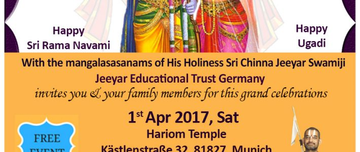 Sri Rama Navami Celebrations by JET Germany
