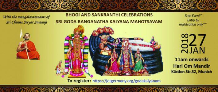 Bhogi & Sankranthi celebrations'18 – Goda Kalyanam